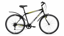 "Велосипед Forward ALTAIR MTB HT 1.0 26"" 18ск черный 17"""